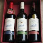 3 bottles carton box