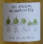 Grape Juice : Les raisins de Marinette